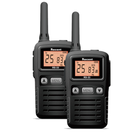 RS-33 PMR446/FRS462 License Free Handheld Radio